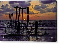 Irb Sunset Acrylic Print
