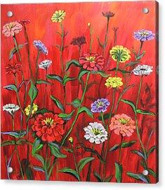 I-red-escent Acrylic Print by Rick Osborn