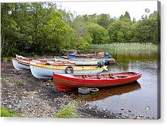 Ireland Boats 2 Acrylic Print by Teresa Tilley