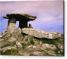 Ireland, Burren Ancient Poulnabrone Acrylic Print