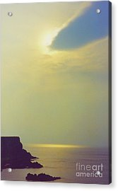 Ireland Giant's Causeway Ethereal Light Acrylic Print by First Star Art