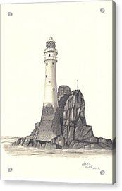 Ireland Lighthouse Acrylic Print