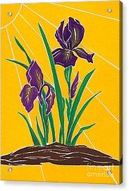 Iris 2 - In The Sun Acrylic Print