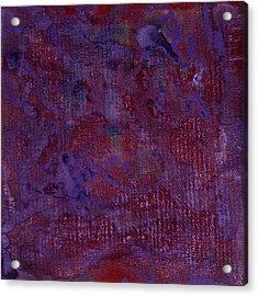 Iris Box Acrylic Print by Corie Weaver