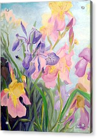 Iris Medley Acrylic Print