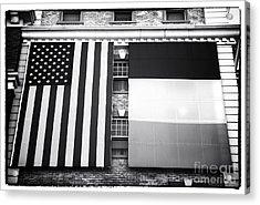 Irish American Acrylic Print by John Rizzuto
