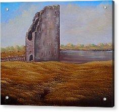 Irish Castle Acrylic Print by Fineartist Ellen