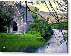 Irish Chapel Acrylic Print