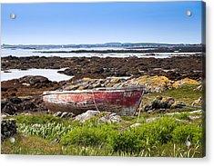 Acrylic Print featuring the photograph Irish Coast Impression by Juergen Klust