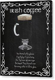 Irish Coffee Acrylic Print by Mark Rogan