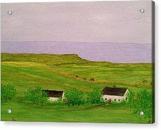 Irish Cottage Acrylic Print