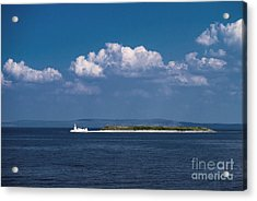 Irish Lighthouse  Acrylic Print by Juergen Klust