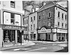 Acrylic Print featuring the photograph Irish Shops by Juergen Klust