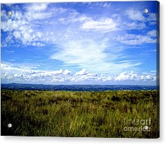 Acrylic Print featuring the photograph Irish Sky by Nina Ficur Feenan