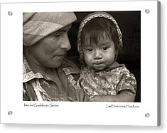 Acrylic Print featuring the photograph Irma And Guadaloupe Santos by Tina Manley