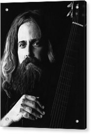 Iron And Wine Acrylic Print by Justin Clark