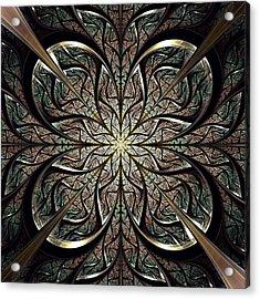 Iron Gate Acrylic Print by Anastasiya Malakhova