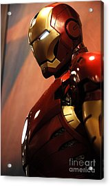 Iron Man Acrylic Print by Micah May