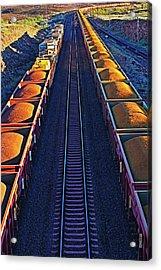 Iron Ore Train, Karratha. Western Acrylic Print