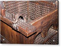 Iron Torture Chair Acrylic Print