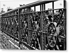 Iron Work Acrylic Print
