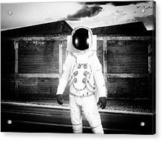 The Astronaut Homecoming Acrylic Print by Bob Orsillo