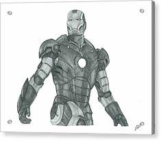 Ironman Acrylic Print by Rich Colvin