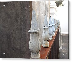Acrylic Print featuring the photograph Ironwork by Beth Vincent