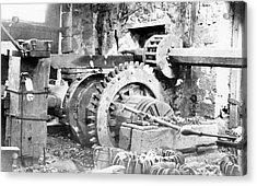 Ironworking Forge Machinery Acrylic Print