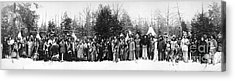 Iroquois Group C1914 Acrylic Print by Granger