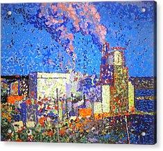 Irving Pulp Mill II Acrylic Print