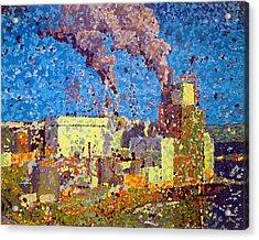 Irving Pulp Mill Acrylic Print