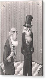 Isaiah And Bartholomew Acrylic Print by Richard Moore