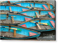 Isis Rowing Boats Acrylic Print by OUAP Photography