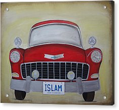 Islam Yours To Discover Acrylic Print by Salwa  Najm