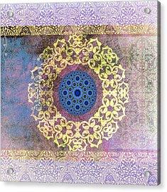 Islamic Motive Acrylic Print by Corporate Art Task Force