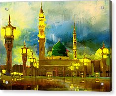 Islamic Painting 002 Acrylic Print by Corporate Art Task Force