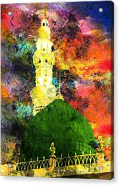 Islamic Painting 007 Acrylic Print by Catf