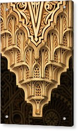 Islamic Plaster Work Acrylic Print by PIXELS  XPOSED Ralph A Ledergerber Photography