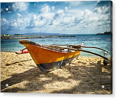 Island Boat Acrylic Print