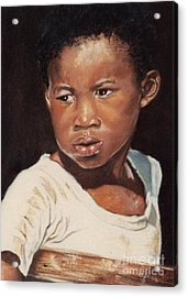 Island Boy Acrylic Print by John Clark