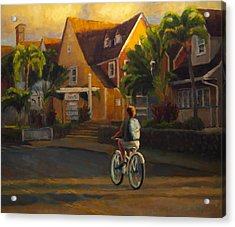 Island Commute Acrylic Print by Jeanne Young