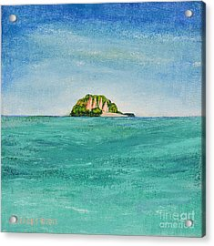 Island For Two Acrylic Print