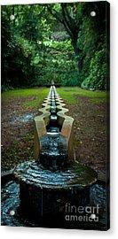 Island Fountain Acrylic Print