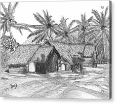 Island House 13 Acrylic Print