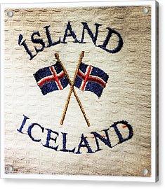 Island Iceland Acrylic Print