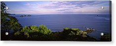 Island In An Ocean, Papagayo Peninsula Acrylic Print by Panoramic Images