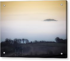 Island In The Irish Mist Acrylic Print