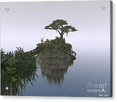 Island In The Sky Acrylic Print