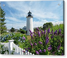 Acrylic Print featuring the photograph Island Light by Elaine Franklin